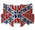 Lynyrd Skynyrd Belt Buckle with display stand. Made in USA. Officially licensed. Product code WF6